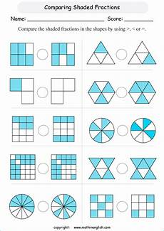 comparing fraction worksheets for grade 5 4181 1000 images about maths on