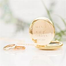 personalised pocket wedding ring holder with chain