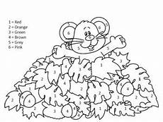color by number fall coloring pages 18108 color by number color by numbers student crafts fall pictures
