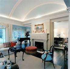 Decorating Ideas For Vaulted Ceiling Living Rooms by Barrel Vaulted Ceiling Traditional Living Room