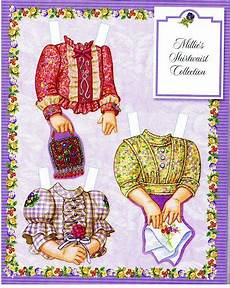 Robin Malvorlagen Vk Millie винтажные бумажные куклы бумажные куклы