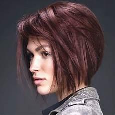 coiffure cheveux mi longs interm 200 de tendances automne