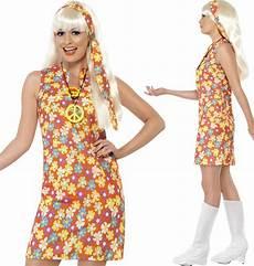 flower power kleidung hippie kost 252 me 70er jahre damen paisley flower power