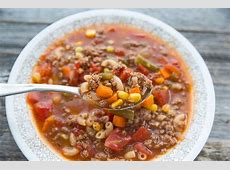 crock pot hamburger soup