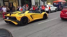 aventador sv prix yellow lamborghini aventador sv roadster montreal grand
