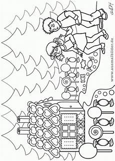 Ausmalbilder Hexenhaus Hansel And Gretel Coloring Pages Coloring Home