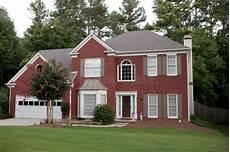 Typisches Amerikanisches Haus Stockbild Bild Typisch