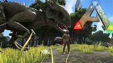 ark survival evolved jurassic world indominus rex mod