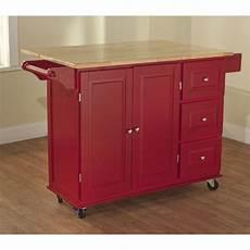 Kitchen Cart Deals by Simple Living Aspen Three Drawer Cart