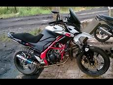 Cb150r Modif Supermoto by Cah Gagah Modifikasi Motor Honda Cb150r Supermoto