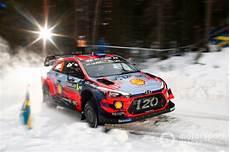 ラリー スウェーデンでのs 233 Bastien Loeb Daniel Hyundai