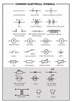electrical wiring symbol 17 current electricity evan s space
