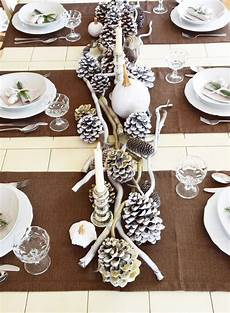 Tischdeko Weihnachten Natur - winterlich festliche tischdeko mit naturmaterialien diy
