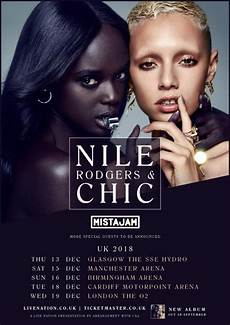 chic time nile rodgers chic announce headlining u k arena tour plus special guest