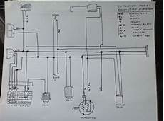 voltage reg wiring single circuit ac cdi by willc moped army