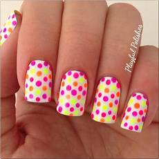 playful polishes 31 day nail art challenge polka dot nails