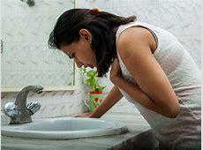 pregnancy sickness at night