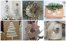 13 Diy Winter Dekoration Ideen Aus Zeitungen Nettetipps De