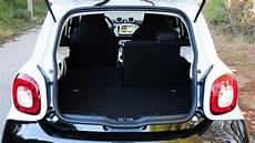 smart forfour hatchback practicality boot space carbuyer