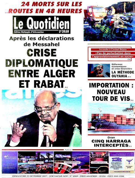 Le Quotidien D Algerie