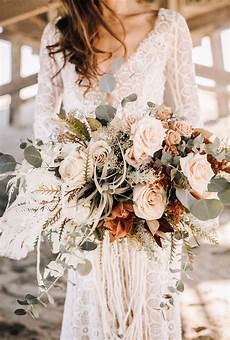 Moody Boho Chic Wedding Ideas With Matching Floral Wedding Invites