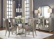 Silver Dining Room Table couture silver pedestal dining room set from pulaski