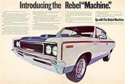 "The AMC ""Rebel Machine"" More Than A One Year Wonder"