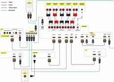 Wiring Diagram For Heater by Home Theater Speaker Wiring Diagram Intended For