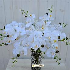 fiori artificiali real touch fiore artificiale orchidea phalaenopsis real touch bianco