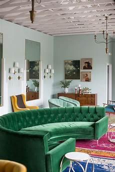Velvet Living Room green velvet upholstery in living rooms inspiration