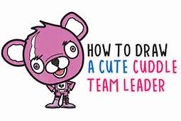 Cuddle Team Leader Archives  How To Draw Step By