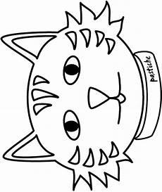 Katzengesicht Malvorlage Cat Coloring Coloring Pages
