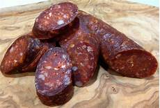 the boozy epicure dry cured chorizo