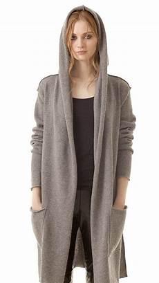 strickjacken mit kapuze damen graue kaschmir strickjacke mit kapuze f 252 r damen