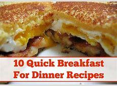 10 Yummy Breakfast For Dinner Recipes   DIY Cozy Home