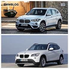 e84 bmw x1 vs 2016 bmw x1 f48 photo comparison