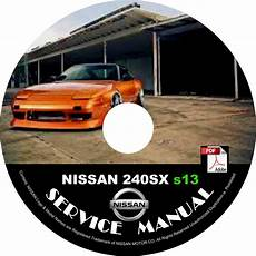 car engine repair manual 1994 nissan 240sx instrument cluster 1994 94 nissan 240sx s13 service repair shop manual on cd