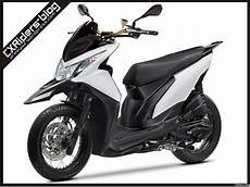 Modifikasi Lu Depan Motor Beat by Konsep Modifikasi Honda Beat Fi Matic Motard D