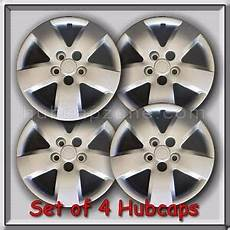 4 16 quot silver bolt on nissan altima hubcaps fits 2007 2008