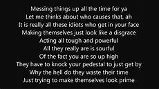 R7apsh rap about bullying with lyrics