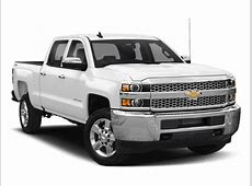 New 2019 Chevrolet Silverado 2500HD Work Truck 4D Crew Cab