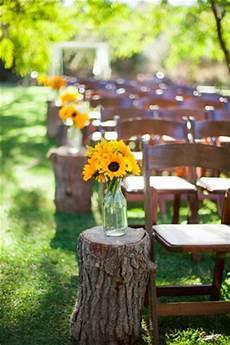 Diy Barn Wedding With Sunflowers