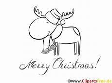 elch mit schal malvorlagen weihnachten und advent