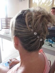 chignon sur cheveux courts chignon banane cheveux fins