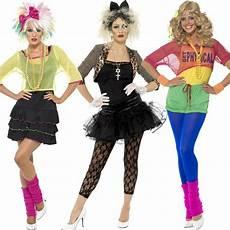 90er Damen - 80er 80iger jahre kost 252 me kleid aerobic popstar disco