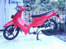 Modif Motor Smash 2004 by Modif Motor Suzuki Smash Modification At Malang Indonesia