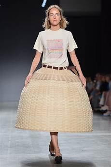 the 2018 pratt fashion show highlighted sustainability fashionista