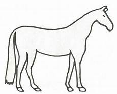 Malvorlage Pferd Umriss Pferd Malvorlage Zum Ausdrucken Pferdeausmalbild
