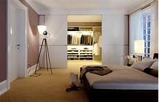 Schlafzimmer Begehbarer Kleiderschrank - begehbarer kleiderschrank edler raumtrenner schiebet 252 ren