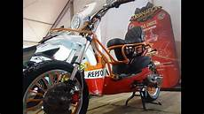 Modifikasi Motor Matic Beat by Honda Beat Modifikasi Motor Matic Custom Trail Scrambler